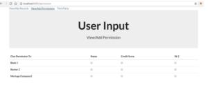 dApp User Input Screen
